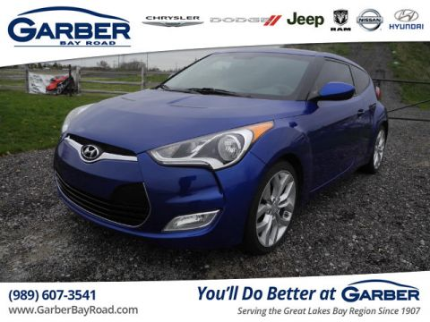 PRE-OWNED 2012 HYUNDAI VELOSTER BASE W/BLACK