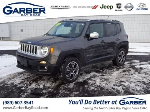 PRE-OWNED 2016 JEEP RENEGADE LIMITED 4WD