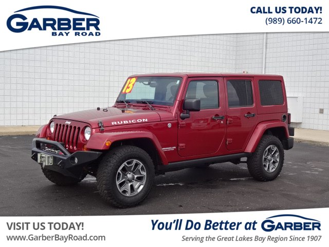 Pre-Owned 2013 Jeep Wrangler Unlimited Rubicon SUV in Saginaw ...