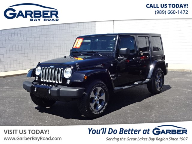 Pre Owned 2018 Jeep Wrangler JK Unlimited Sahara