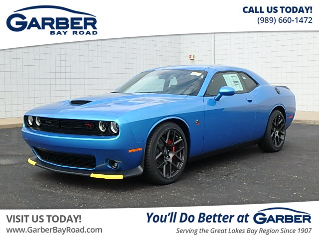 New 2019 Dodge Challenger R T Scat Pack Coupe In Saginaw Kh508466