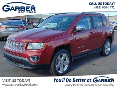 PRE-OWNED 2015 JEEP COMPASS LIMITED 4WD
