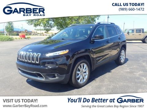 PRE-OWNED 2017 JEEP CHEROKEE LIMITED 4WD