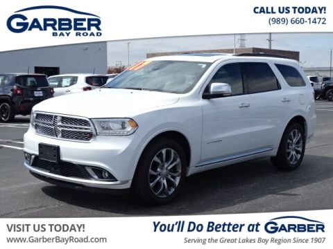 PRE-OWNED 2017 DODGE DURANGO CITADEL AWD