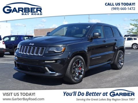 PRE-OWNED 2016 JEEP GRAND CHEROKEE SRT WITH NAVIGATION & 4WD