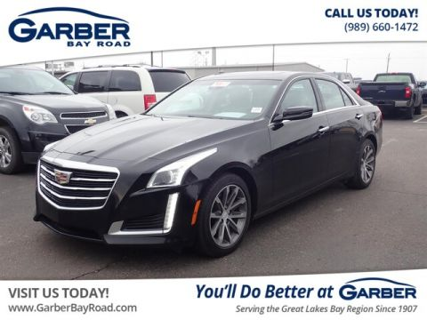 PRE-OWNED 2016 CADILLAC CTS 2.0L TURBO LUXURY COLLECTION WITH NAVIGATION & AWD