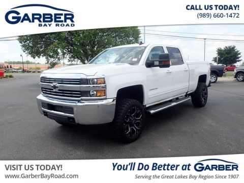 PRE-OWNED 2016 CHEVROLET SILVERADO 2500HD LT 4WD