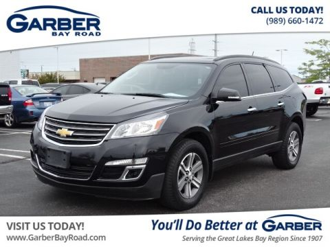 PRE-OWNED 2016 CHEVROLET TRAVERSE LT W/2LT AWD