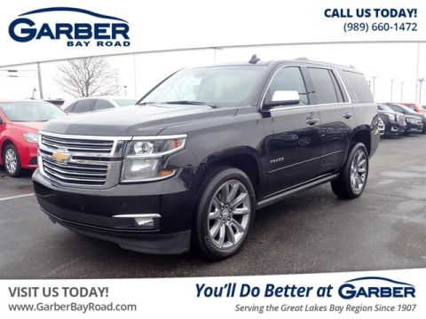 PRE-OWNED 2015 CHEVROLET TAHOE LTZ WITH NAVIGATION & 4WD