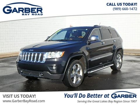 PRE-OWNED 2011 JEEP GRAND CHEROKEE OVERLAND 4WD
