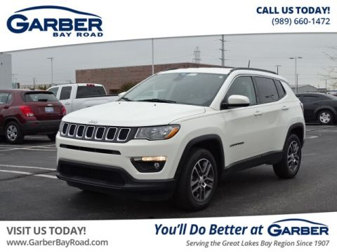 PRE-OWNED 2017 JEEP NEW COMPASS LATITUDE 4WD