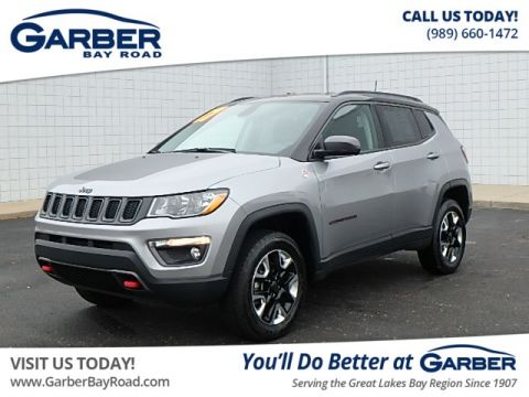 PRE-OWNED 2017 JEEP NEW COMPASS TRAILHAWK 4WD