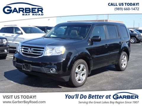 PRE-OWNED 2015 HONDA PILOT EX-L W/NAVIGATION WITH NAVIGATION & 4WD
