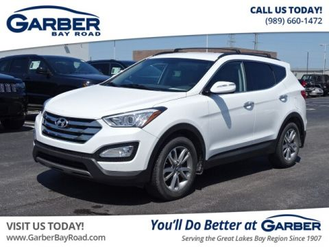 PRE-OWNED 2014 HYUNDAI SANTA FE SPORT 2.0L TURBO W/SADDLE INTERIOR AWD